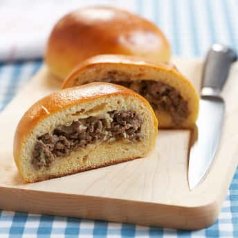 Beef and Cabbage Buns